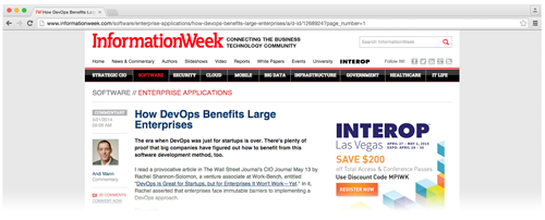 How DevOps Benefits large enterprises