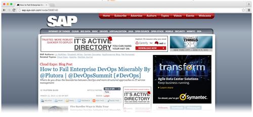 Enterprise DevOps mistakes