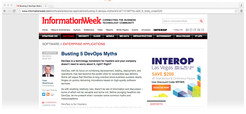 Common misconceptions around Enterprise DevOps