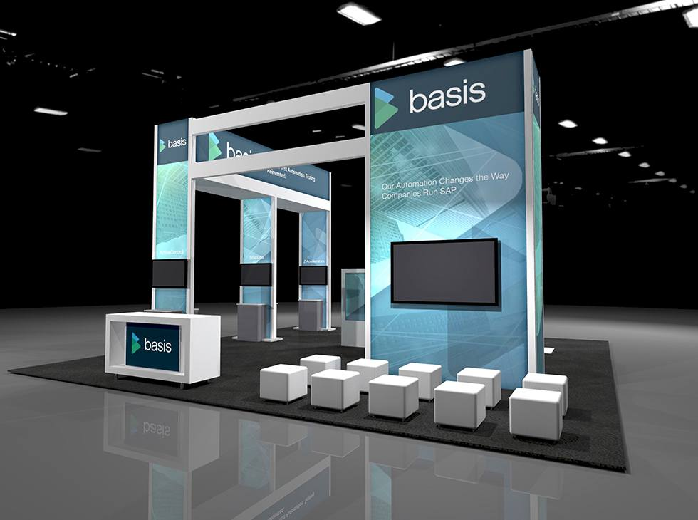 basis sapphire booth 2019 render