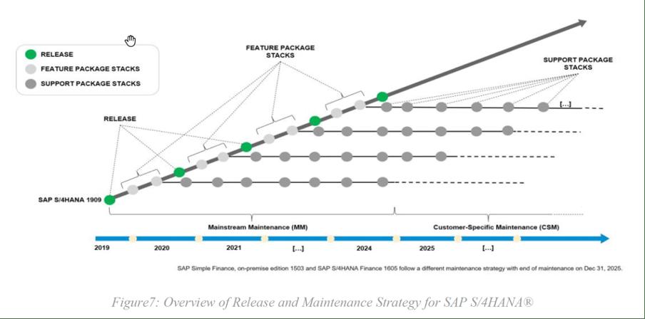 sap-release maintenance strategy diagram