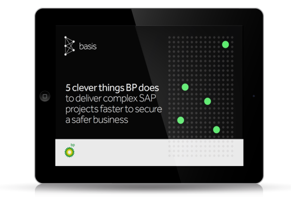 Resource Icon: eBook: 5 clever things BP does to deliver complex SAP projects faster to secure a safer business