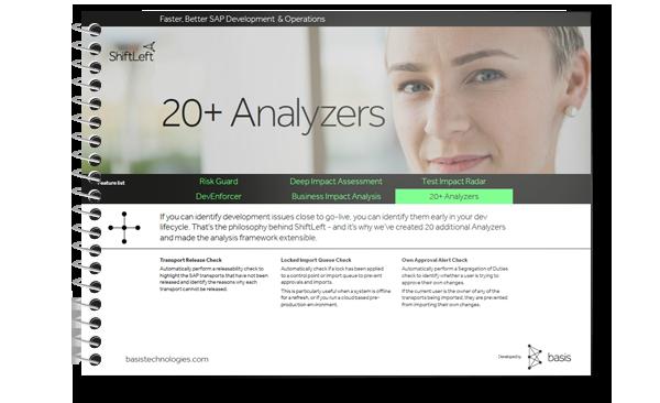 SAP Change Analysis