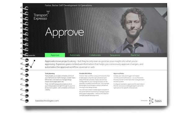 Manage SAP change approval workflow