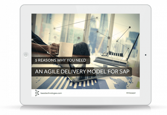 Resource Icon: 5 reasons why you need an agile delivery model for SAP