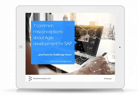 Resource Icon: 7 common misconceptions about Agile Development for SAP