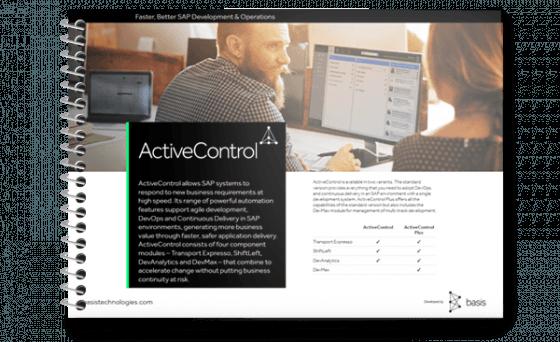 ActiveControl Feature Sheet - DevAnalytics