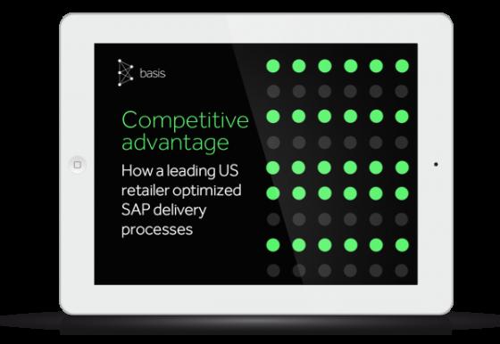 Competitive Advantage - How a leading US retailer optimized SAP delivery processes