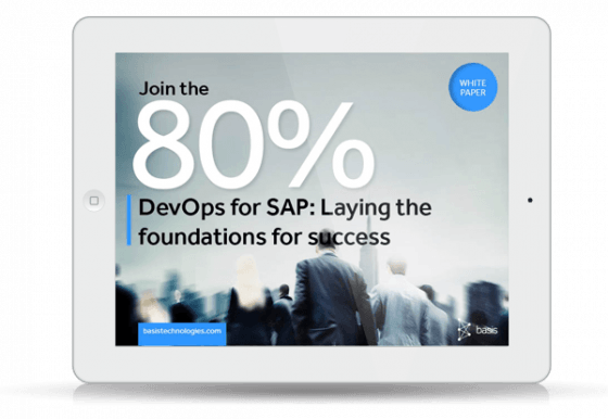 eBook thumbnail: Why adopt DevOps for SAP