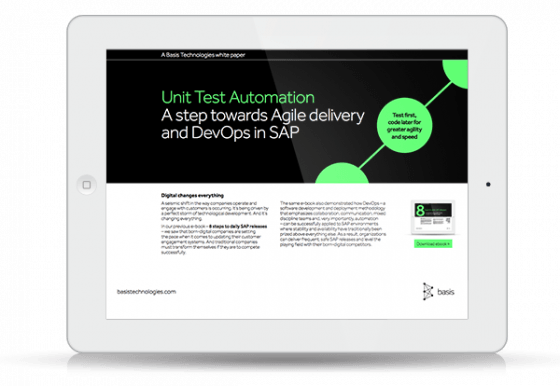 Unit Test Automation: The prerequisite for Continuos Delivery in SAP