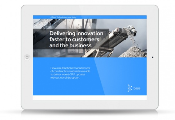 Delivering innovation faster to customers and the business