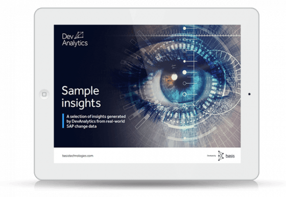 eBook thumbnail:  Real-world insights from DevAnalytics