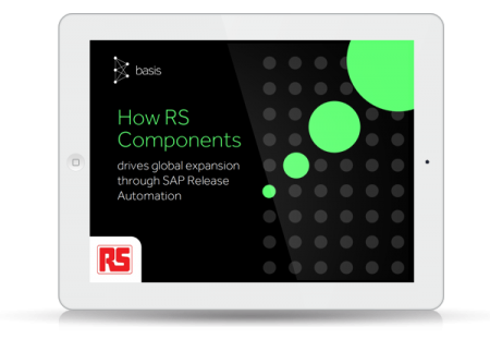 How RS Components drives global expansion through SAP Release Automation