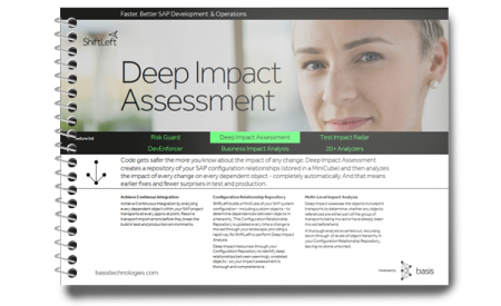 SAP Impact Assessment