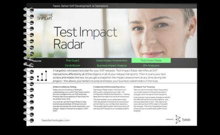 SAP Test Automation Selective Testing