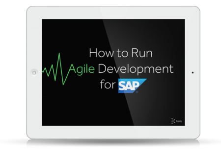 eBook -How to run Agile Development for SAP