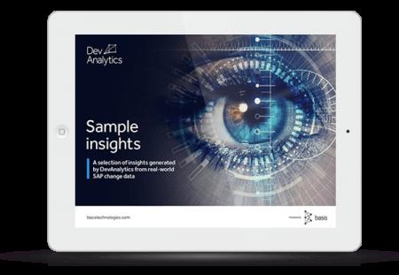 eBook thumbnail:  Real-world insights from DevAnalytics