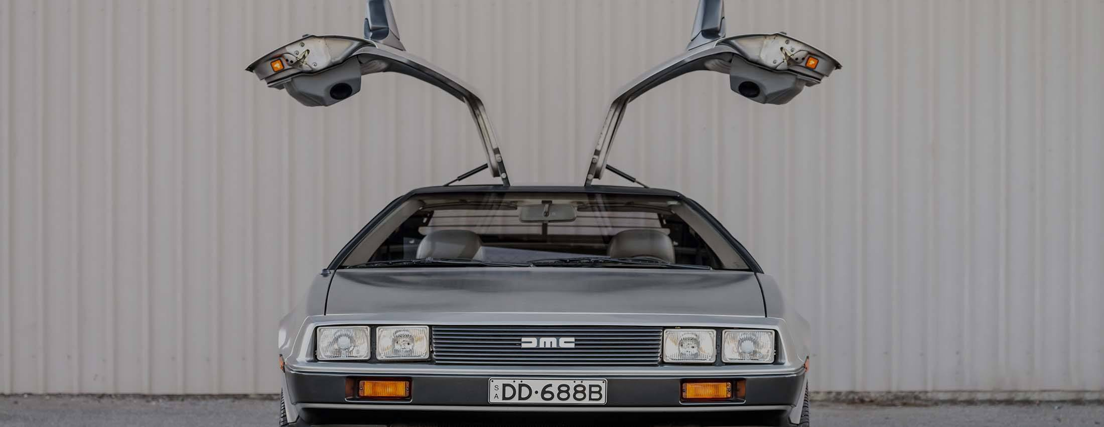 Desktop hero image of Delorean